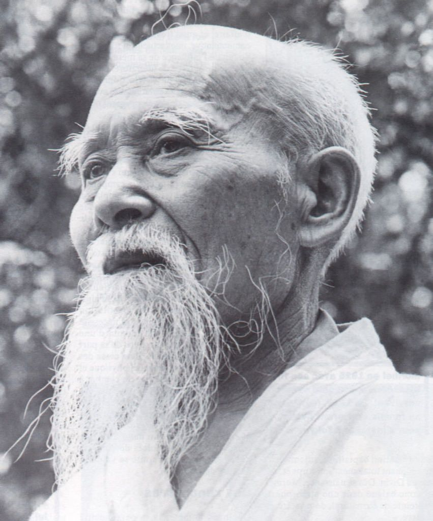 paroles de maître  Ueshiba