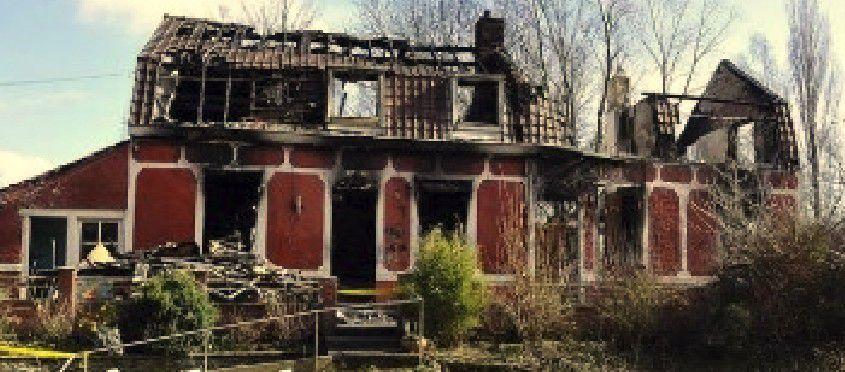 Incendie meurtrier à St Jans Cappel - 10 mars 2015