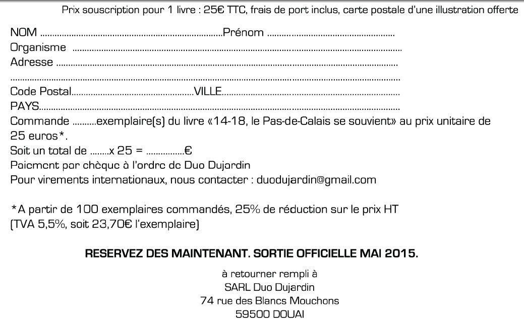 Enfin un livre guide pour la visite de Lorette et de tous les cimetières militaires du Pas de Calais