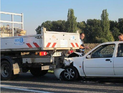 Accidents à Renescure et à La Motte au Bois - 3 octobre 2015 -