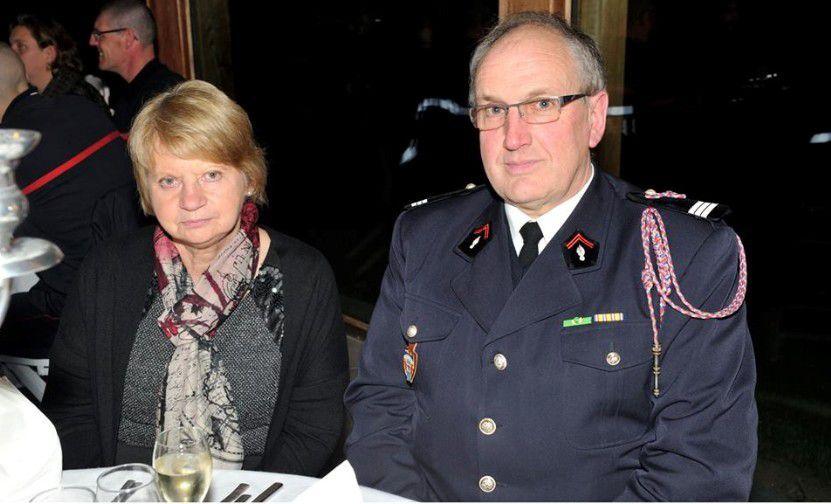 Les Sapeurs Pompiers médaillés et promus de la Sainte Barbe 2015 à Hazebrouck