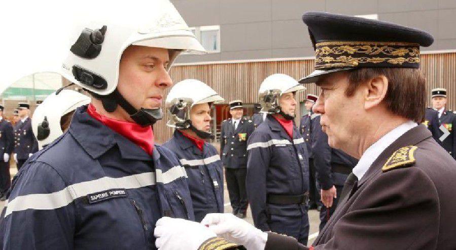 A Bailleul, Cyril Delangue est nommé Médeçin Commandant