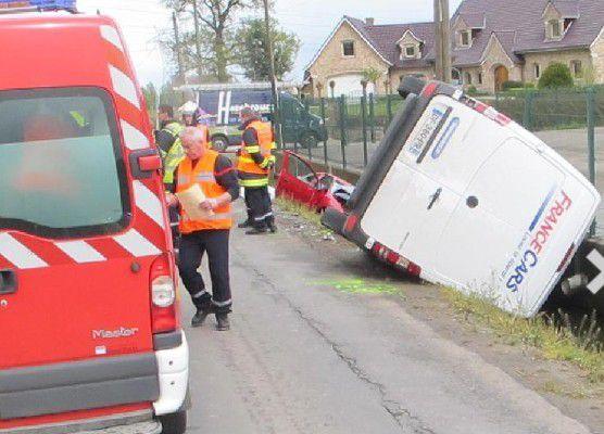 Steenwerck : deux blessés graves dans un accident rue de l'Épinette, à La Croix-Du-Bac