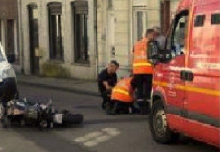 Appel pour accident de moto à Cassel