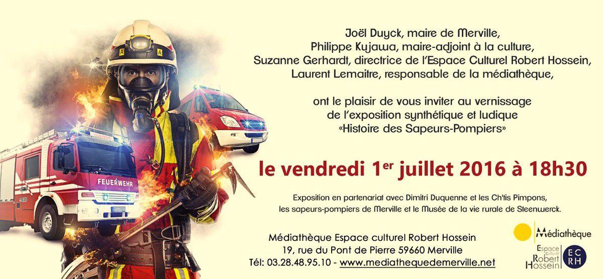 Une expo &quot&#x3B;Pompiers&quot&#x3B; à ne pas louper....
