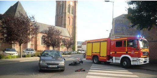 Hazebrouck : une collision rue Depoorter
