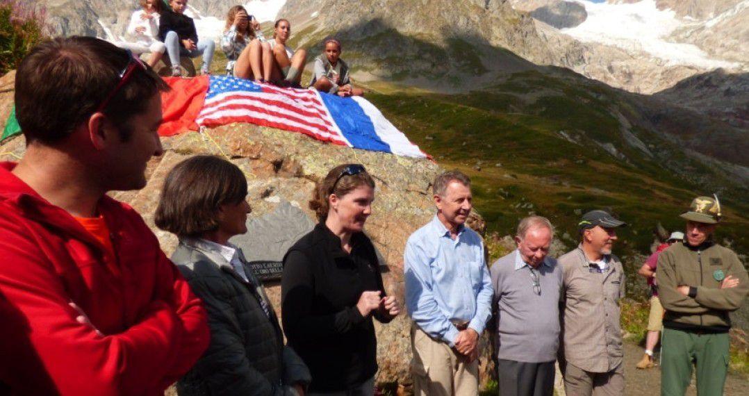 70 ème anniversaire du crash du B 17 de l'Aiguille des Glaciers