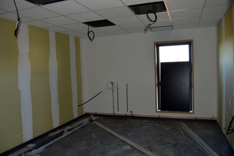 Visite du chantier de la nouvelle caserne de Bailleul Méteren