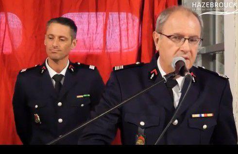 La belle Sainte  Barbe 2016 des Pompiers d'Hazebrouck