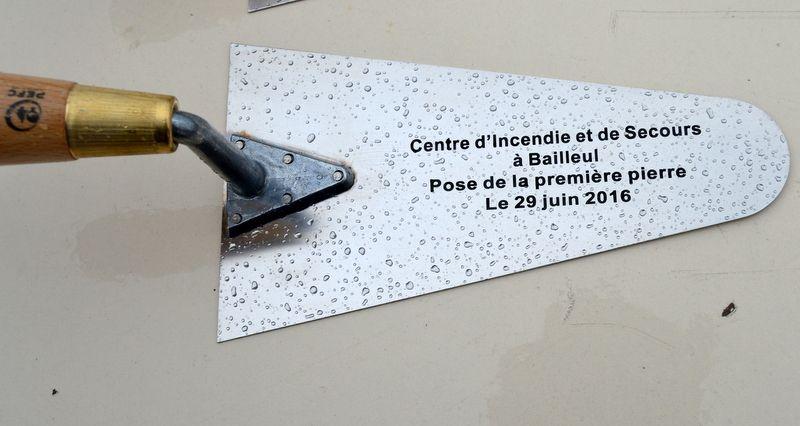 Dernière &quot&#x3B;Sainte-Barbe&quot&#x3B; des Pompiers de Méteren, avant leur fusion avec ceux de Bailleul
