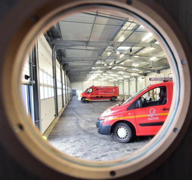 En primeur, découverte du nouveau Centre de Secours des Pompiers de Bailleul Méteren