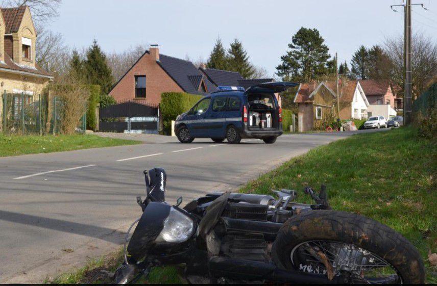 SAINT-JANS-CAPPEL  Deux blessés graves dans un accident entre une moto et une voiture au mont Noir