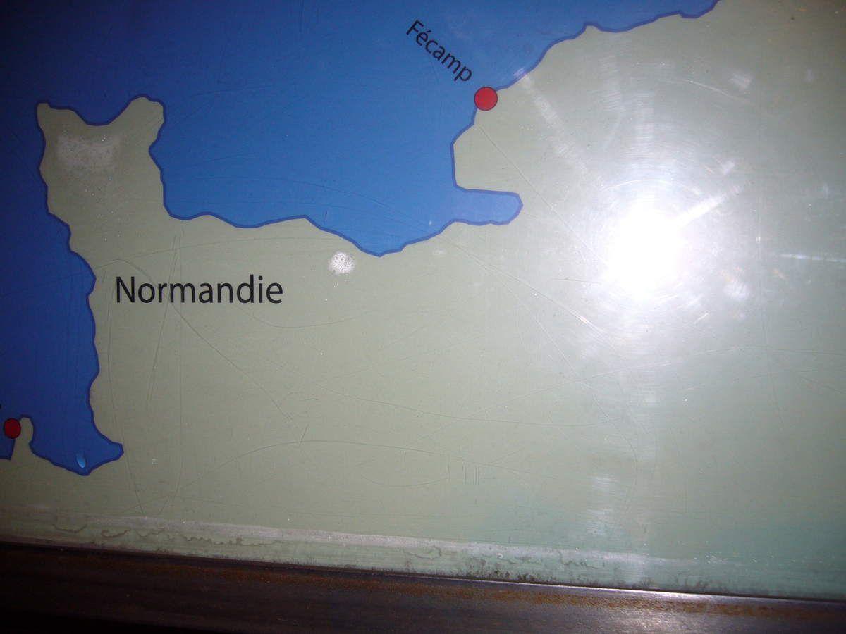 Fécamp en Normandie, sur le port de Reykjavik