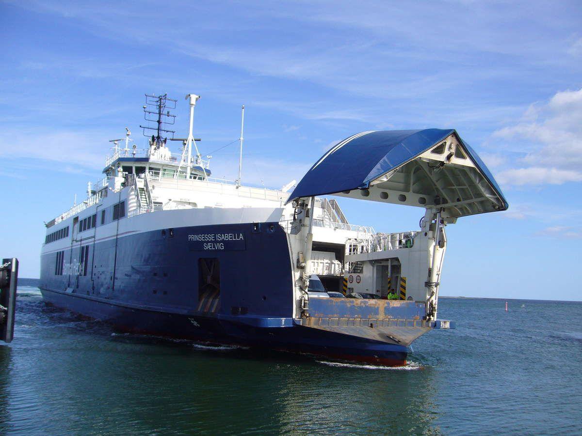 Le ferry pour Samsø.