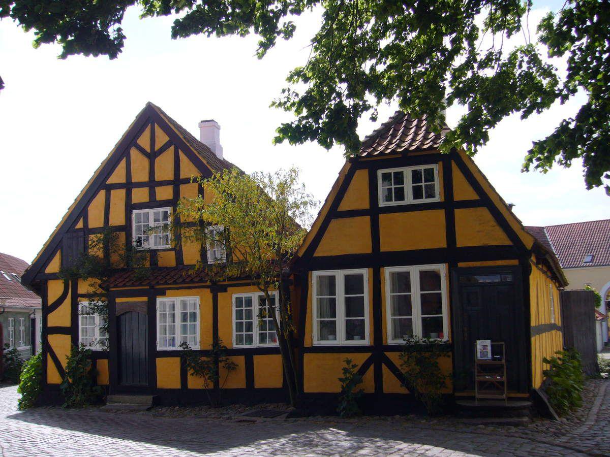 Maisons à colombages.