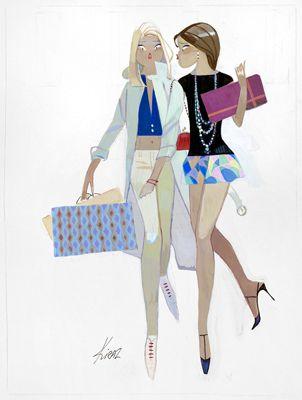 Shopping quand tu nous tiens ....