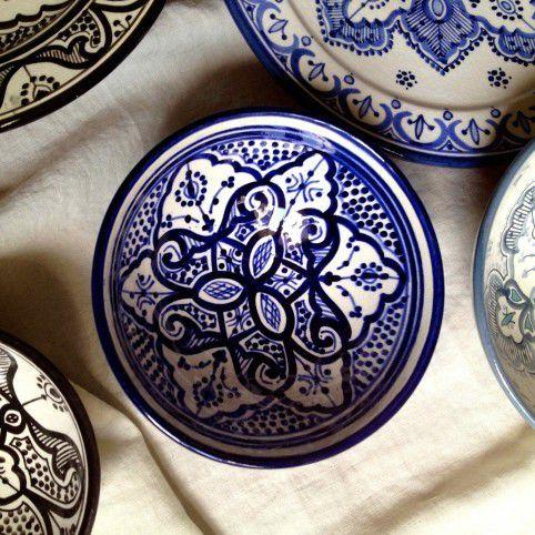Et je craque toujours pour la vaisselle colorée ...