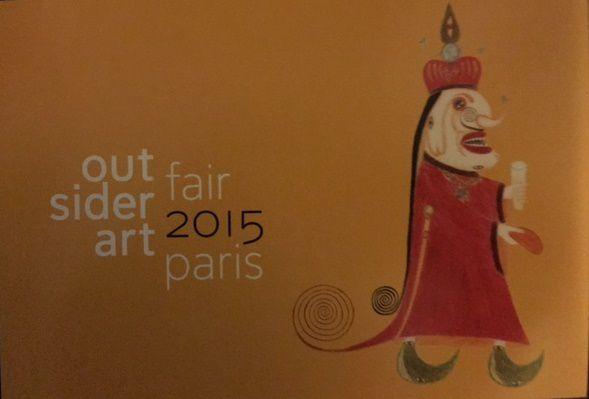 L'Outsider Art Fair Paris est ouverte mais faites vite elle ne dure que jusqu'à dimanche!