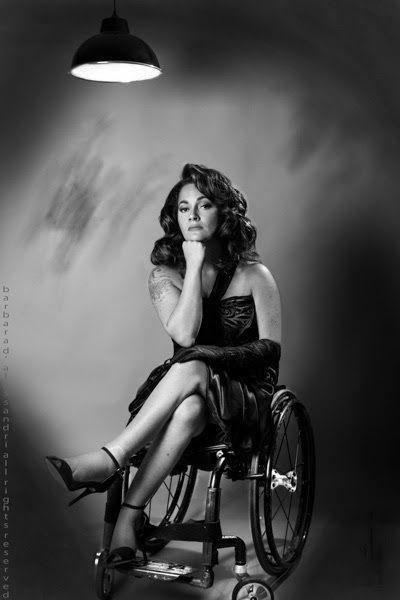 """""""Même en situation de handicap, on peut être fashion et sexy""""   Sandrine Ciron"""