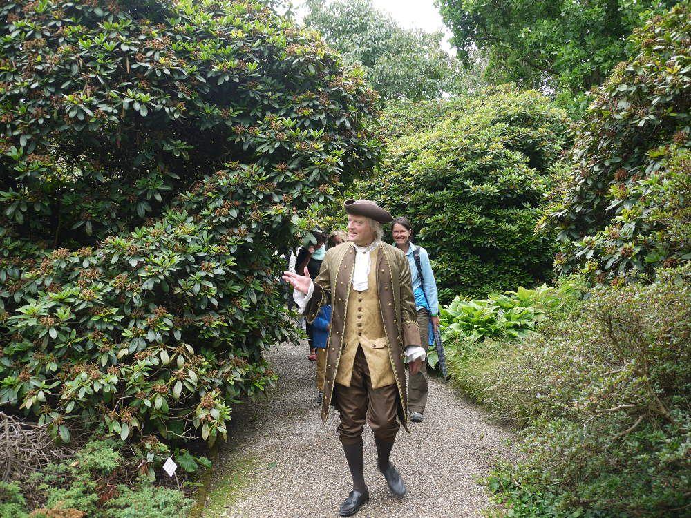 Carl von Linné unterwegs mit seinen &quot&#x3B;Studenten&quot&#x3B;