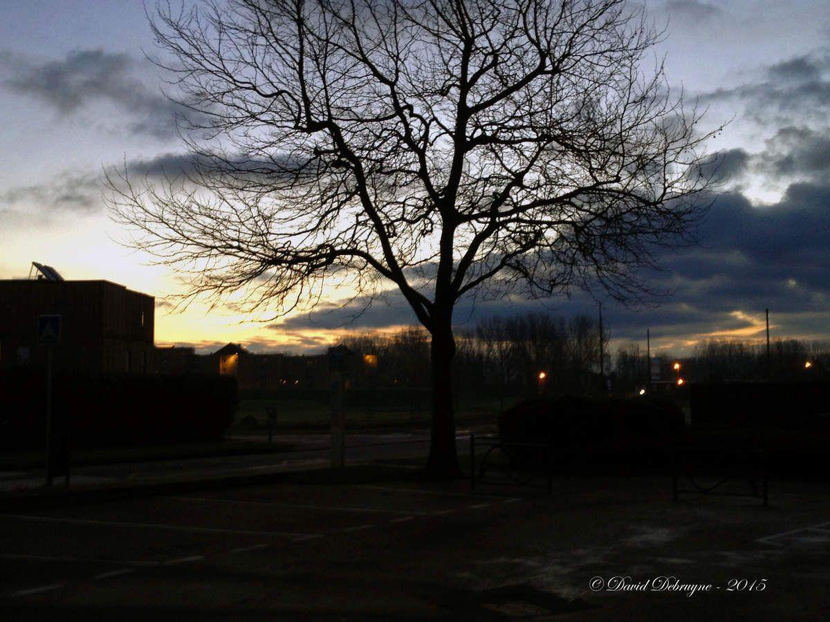 un matin d'hivers sur Grande-Synthe