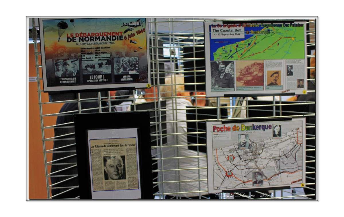 Exposition sur la bataille du Pont de Spycker