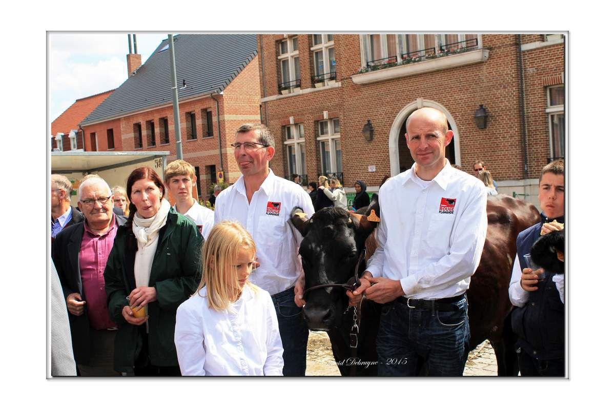 Inauguration de la Mei Feest (foire agricole et commerciale)
