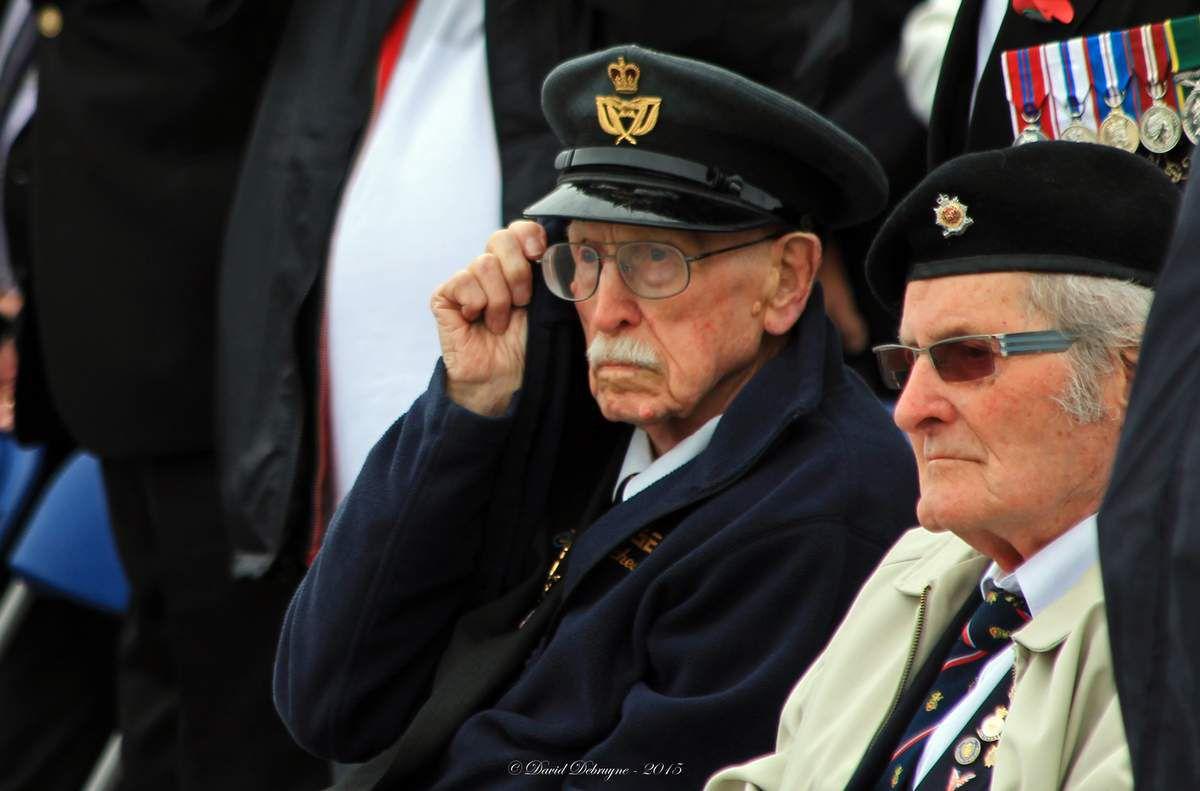 Cérémonie Commémorative du 75eme anniversaire de la bataille de Dunkerque et de l'Opération Dynamo monument des alliés