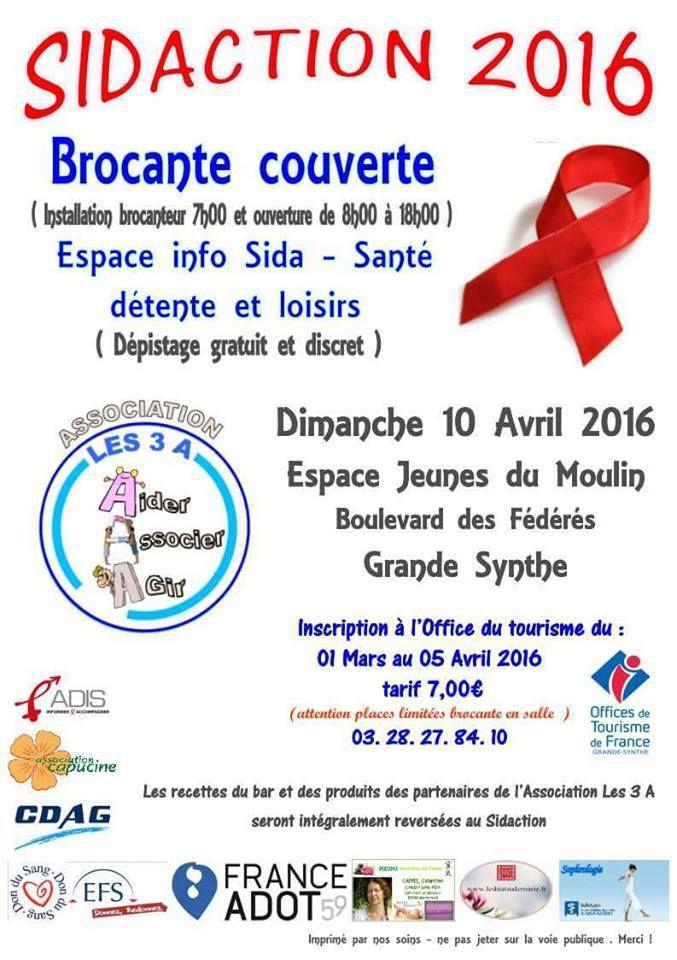 2eme sidaction de Grande-synthe