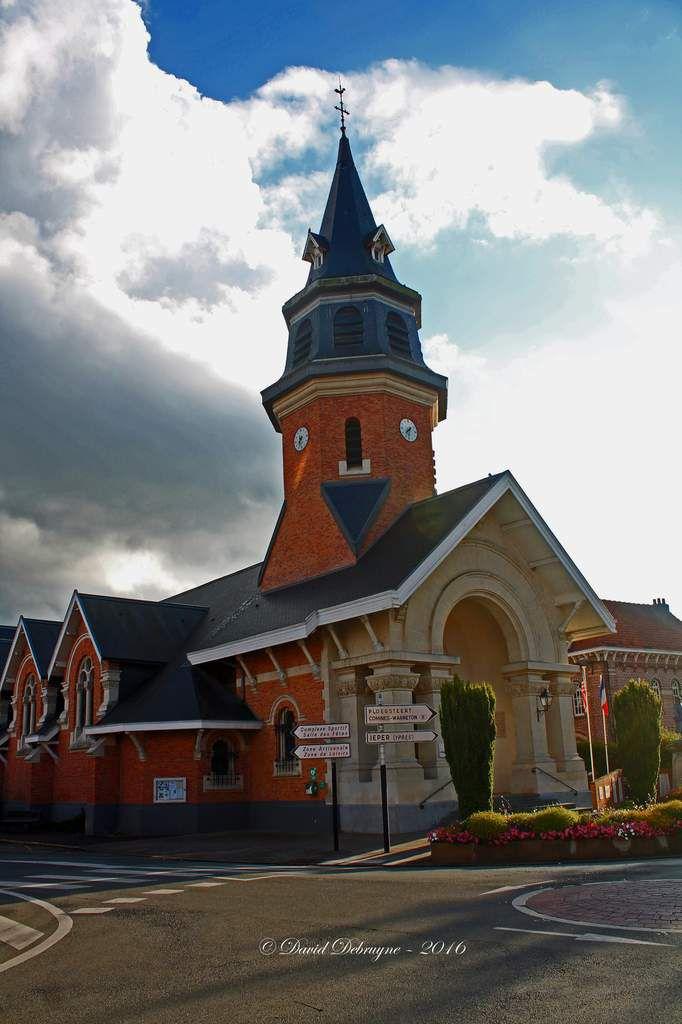 Eglise Saint Amand de Frelinghien d'hier à aujourd'hui