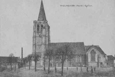 Frelinghem eglise saint amand de frelinghien d'hier à aujourd'hui - david