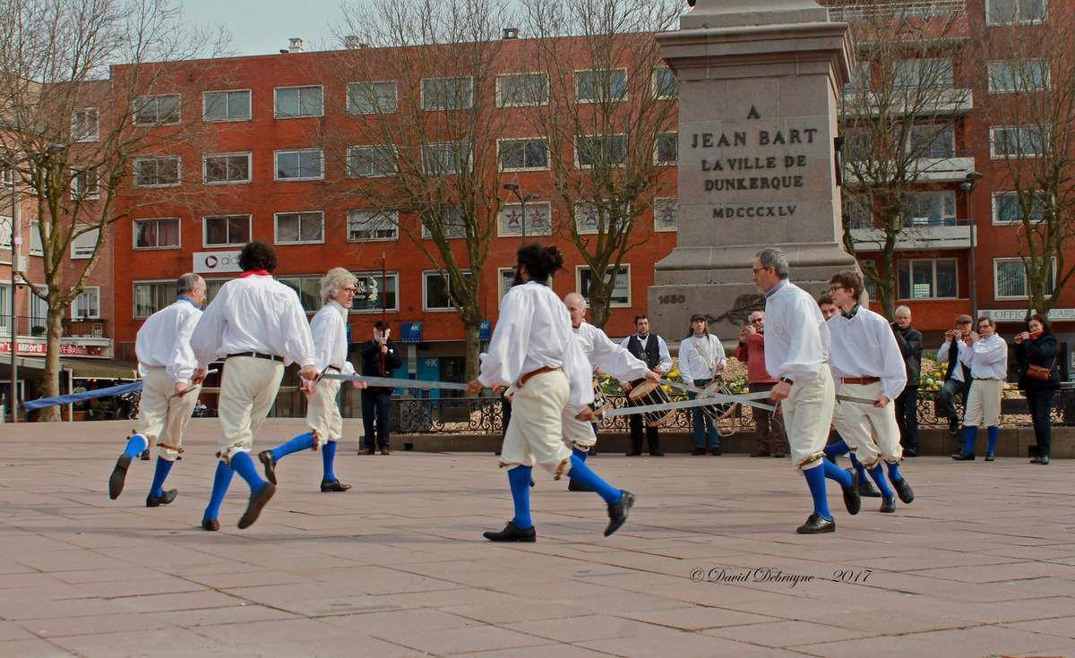 Danse d'épées de DUNKERQUE