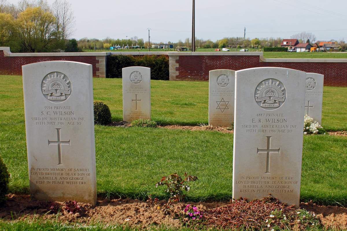 Pheasant Wood Military Cemetery de Fromelles