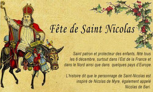 """Résultat de recherche d'images pour """"st nicolas est feté"""""""