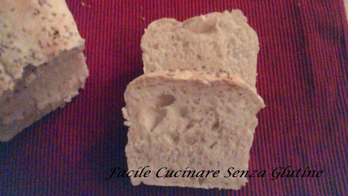 Il Pane bianco senza glutine