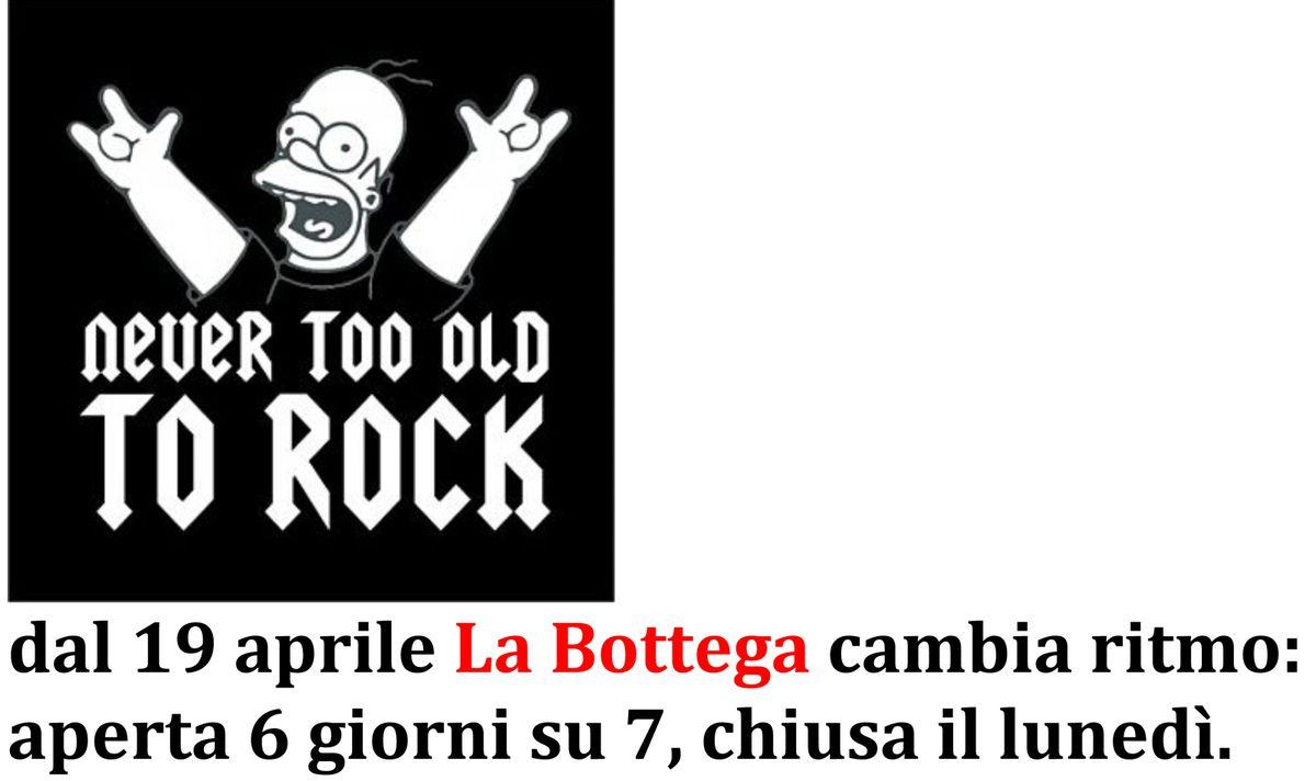 Andamento rock ....