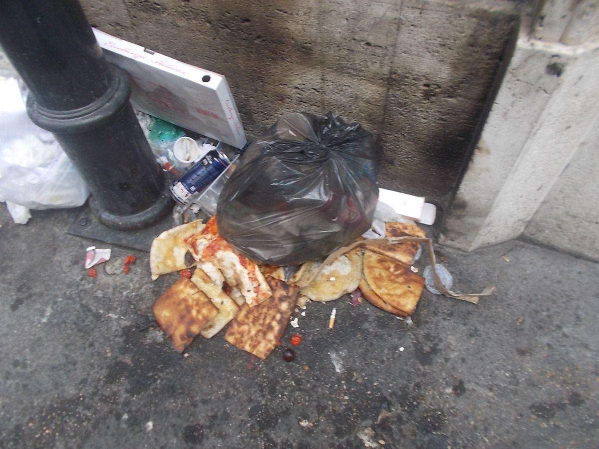 Quel problema fatto dei rifiuti a Roma