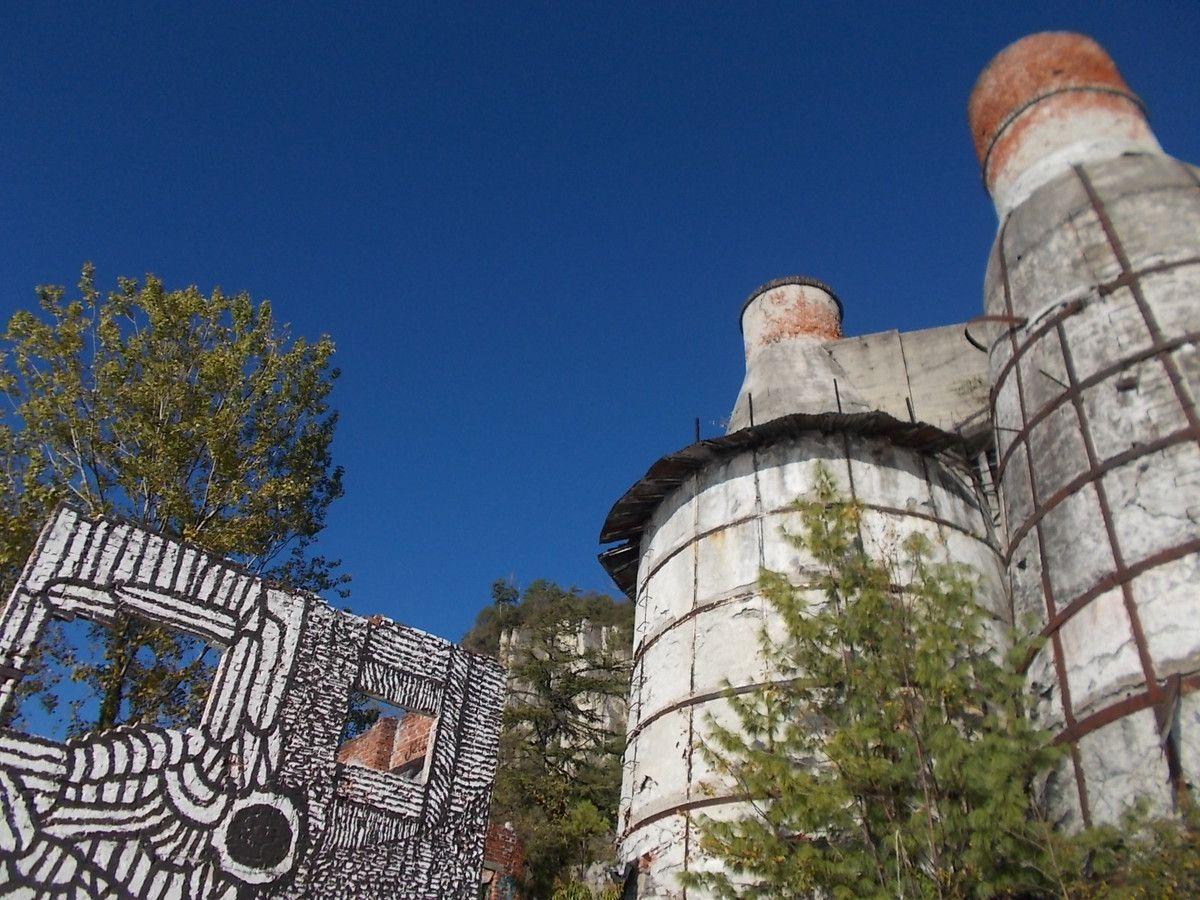 Archeologia industriale: visita alle Fornaci per calce di Caldè