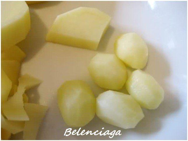 tornear patatas