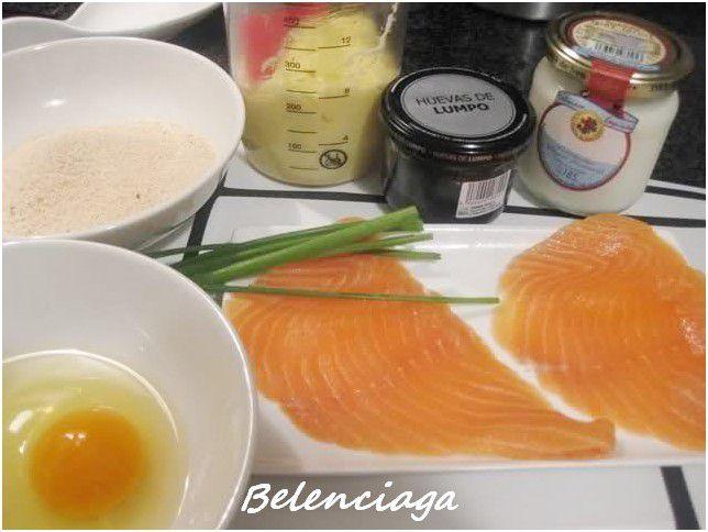 milanesas salmon
