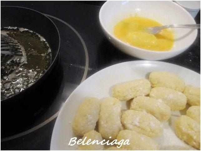 fritos de huevo