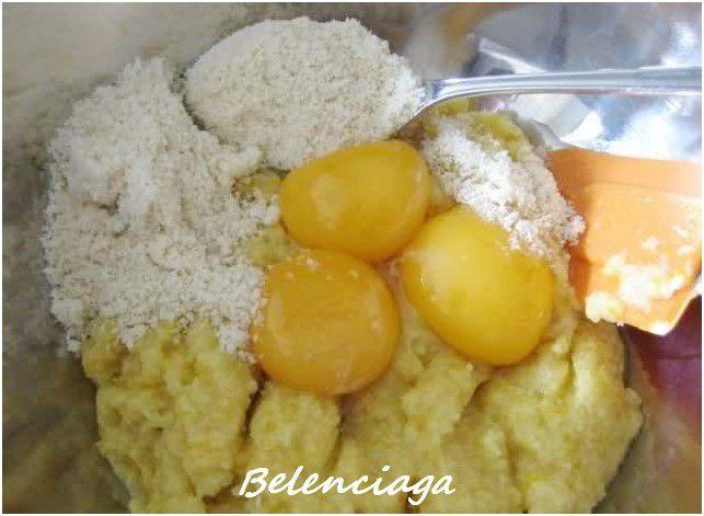 bizcochas de naranja