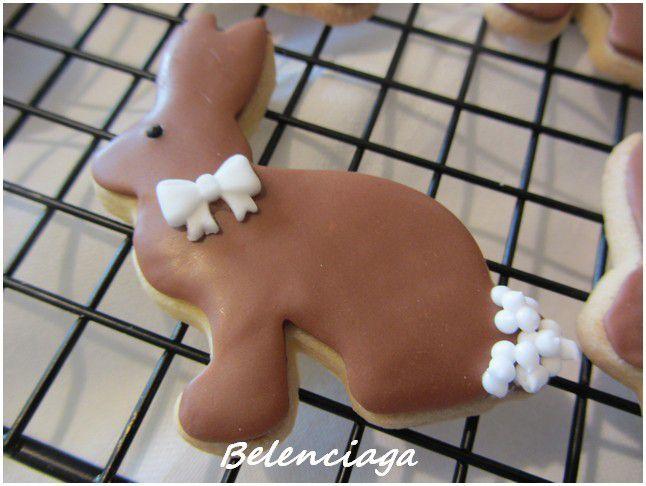 galletas decoradas, balon, conejo nacimiento