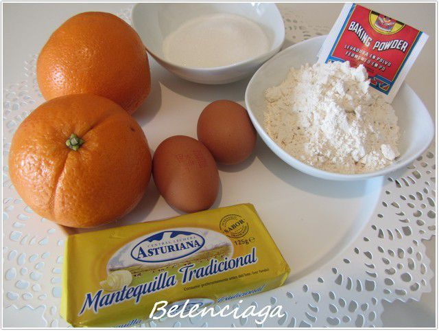 bizcochitos de naranja calados