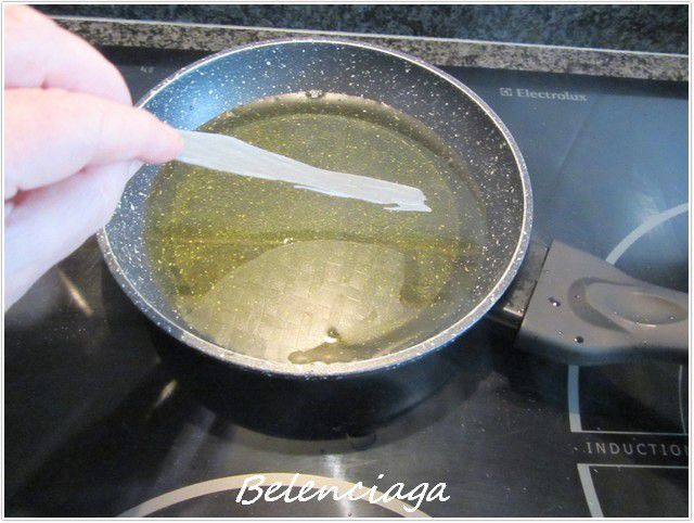 langostinos obleas arroz