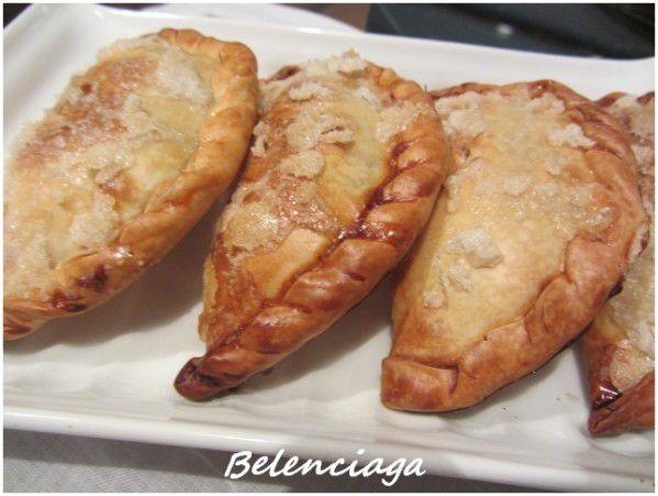 empanadillas crema yema