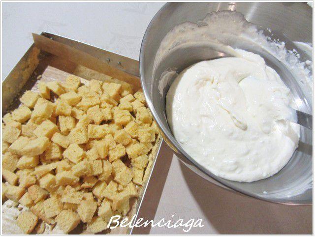 Tarta coliflor y clara