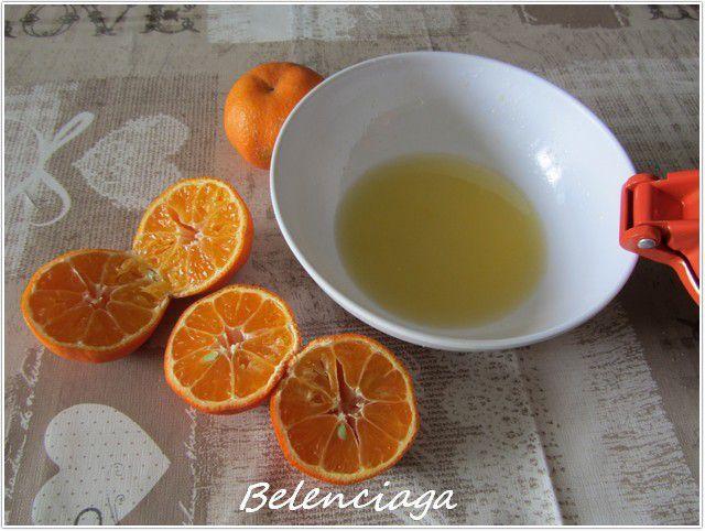 flan de mandarina sin horno II