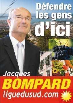 Le député-maire Jacques Bompard (Ligue du Sud, ancien MPF)