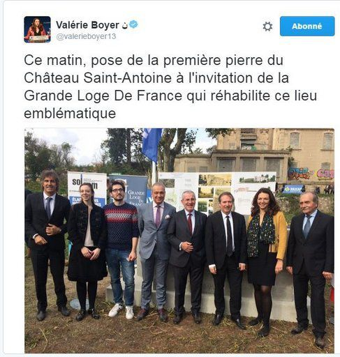 les amitiés maçonniques de Valérie Boyer (LR), porte-parole de François Fillon
